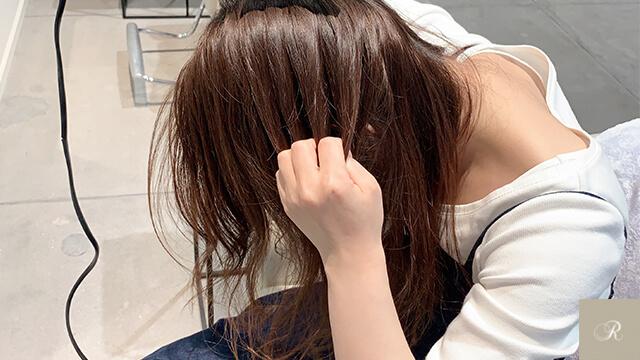美容師流 くせ毛をおさめる乾かし方1