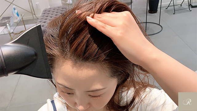 美容師流 髪の乾かし方2