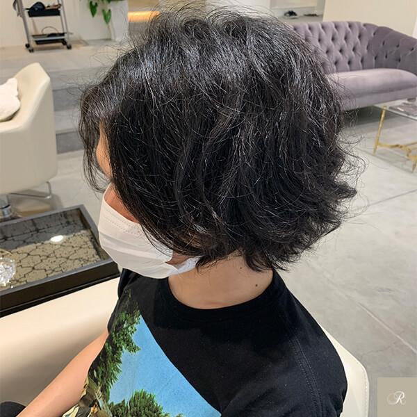 竹村のくせ毛の画像1